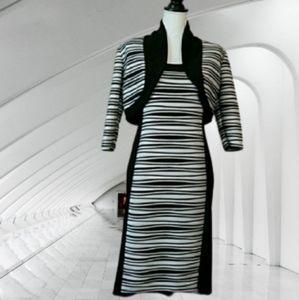 R&M Richards 2 sets blazer and dress size 6